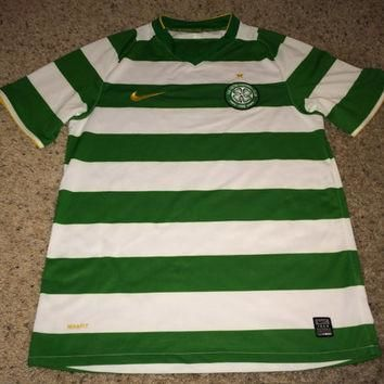 Sale!! Vintage Nike CELTIC FC Soccer Jersey Scotland Football Shirt