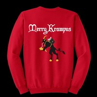MERRY KRAMPUS   UGLY SWEATER