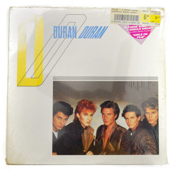 Vintage 80s Duran Duran Self Titled Debut Album Record Vinyl LP