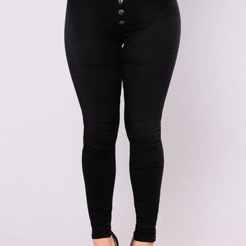 Pretty & Slick Skinny Jean - Black