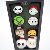 Disney Usa Nightmare Before Christmas Jack & Friends Tsum Set of 8 New with Box