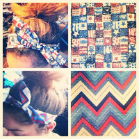 Red White and Blue Headbands by AngeliqueMerici on Etsy