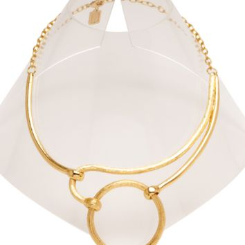 Mia Collar Necklace in Gold