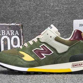 New Balance Made in England Test Match Pack Green Mens Running Shoes