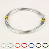 10m/roll  0.8mm 7 Colors Aluminum Wire for DIY jewelry making findings accessories embellishment supplies pandahall