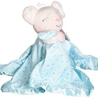 Carter's Plush Security Blanket Mouse, Pink /Turq