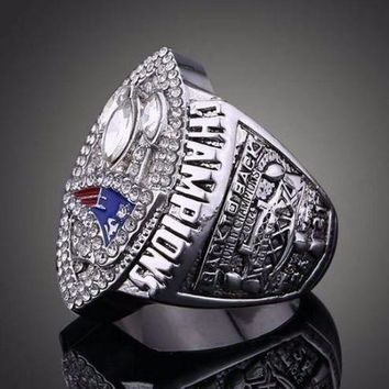 """SPORTS RING * 2004 NEW ENGLAND """"PATRIOTS"""" WORLD * CHAMPIONS/ shipping from USA"""