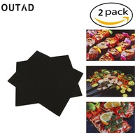 OUTAD  Reusable    Stick  Grill  Baking  Sheet  Meshes
