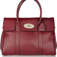 Mulberry|Bayswater textured-leather bag|NET-A-PORTER.COM