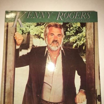 KENNY ROGERS SHARE YOUR LOVE LP RECORD ALBUM 33 RPM STEREO MINT VINYL VINTAGE