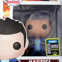SDCC 2015 Exclusive Supernatural Castiel French Mistake Pop Vinyl Figure.