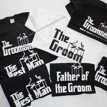 0dd2e207 Bachelor party shirts, Groom, Groomsmen, Father of the Groom, Fa