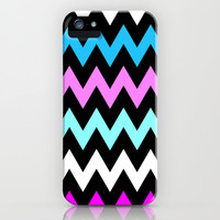 Zigzag #12 iPhone & iPod Case by Ornaart