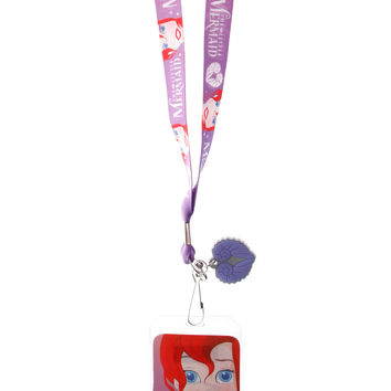 Disney The Little Mermaid Ariel Lanyard | Hot Topic