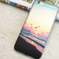 Summer Beach Ocean Seagull Case for iPhone