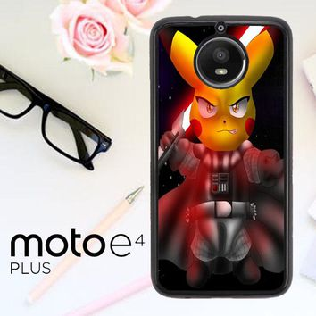 Star Wars Pokemon V1712 Motorola Moto E4 Plus Case
