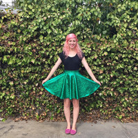 Ariel inspired Disneybounding circle skirt