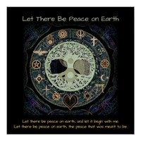 Let There Be Peace Poster