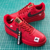 Nike Air Force 1 Low Af1 Just Do It Red | Ar7719 106 Sport Shoes Sale