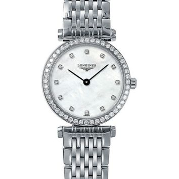 Longines La Grande Classique de Longines Diamond Bracelet Watch, 24mm | Nordstrom