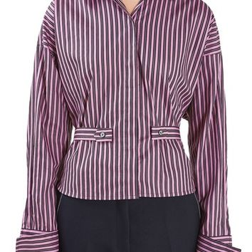 Topshop Unique Tiller Stripe Shirt | Nordstrom