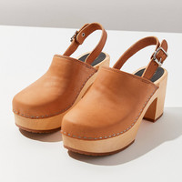 Swedish Hasbeens Jill Plateau Clog | Urban Outfitters
