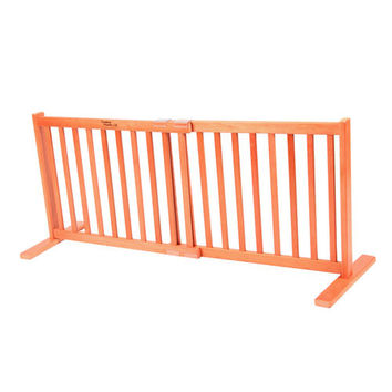 Amish Handcrafted Kensington20-Inch Free Standing Pet Gate