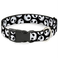 DCCKGW6 Buckle-Down Nightmare Before Christmas Jack Expressions Pet Collar