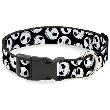 DCCKT9W Buckle-Down Nightmare Before Christmas Jack Expressions Pet Collar
