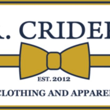 J.R. Crider's - The Logo Sticker