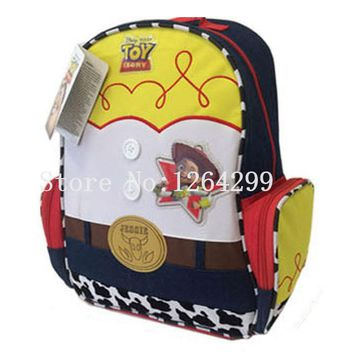 New Fashion Toy Story Jessie Girls School Bags Kids Cartoon Backpack Bag For Children