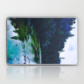 Blue Trees Laptop & iPad Skin by DuckyB (Brandi)