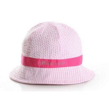 CUPUP9G NEW Toddler Infant Sun Cap Summer Outdoor Baby Girl Hats Sun Beach Bucket Hat 3 Colors