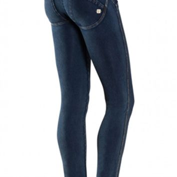 Freddy WRUP1LA0E Wr.Up Shaping Effect Skinny Jeans in Indigo | Emporium DNA