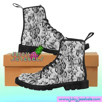 SHAKIN SNAKE Combat Boots Rave Clothing Music Festival Clothing Rave Outfit Women Burning Man Clothing Rave Wear Psychedelic Clothing