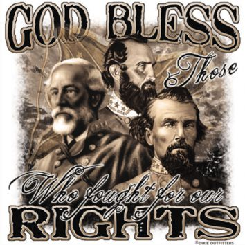God Bless Those Who Fought For Our Rights - Square Sticker