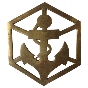 Nautical Brass Trivet
