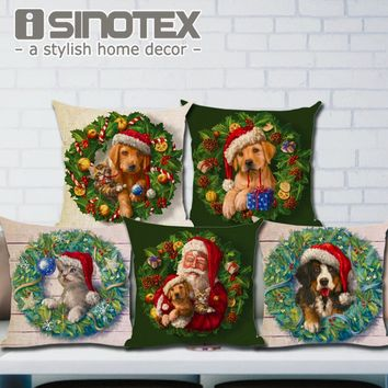Christmas  Decoration  Cushion  Cover  Pillow  Throw