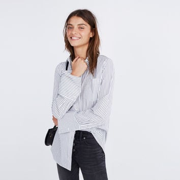Flannel Westward Shirt in Stripe : | Madewell