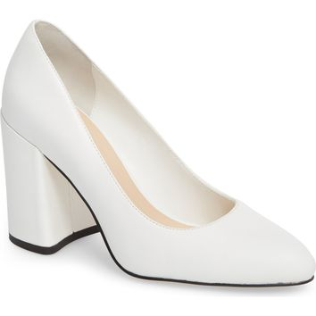 Leith Nik Block Heel Pump (Women) | Nordstrom