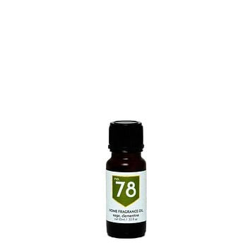 No. 78 Sage Clementine Home Fragrance Diffuser Oil