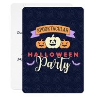Fun Costume Halloween Party Invitations