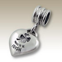 Proud to be Irish Trollbeads / Pandora Style charm beads