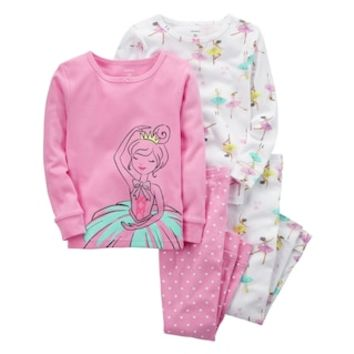 Girls 4-12 Carter's 4-pc. Ballerina Pajama Set | null