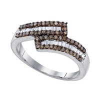 Diamond Fashion Ring in Sterling Silver 0.48 ctw