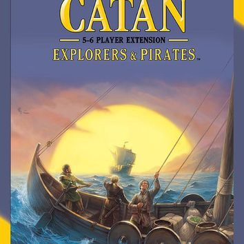 Settlers of Catan: Explorers and Pirates (5-6 Player Extension)