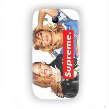 Beyonce Supreme Music Yonce For Samsung Galaxy S3 Case