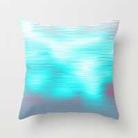 Allusion Throw Pillow by Printapix
