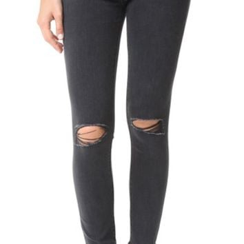 Farrow Cropped Instaslim High Rise Jeans
