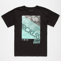 Young & Reckless 5K Boys Tee Black  In Sizes